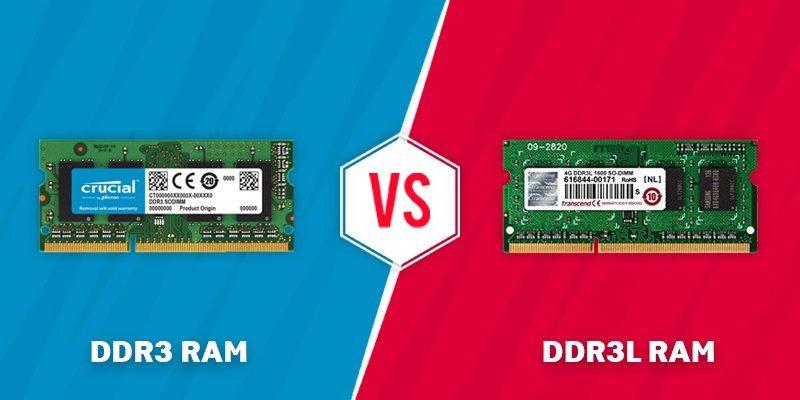 ddr3 vs ddr3l ram