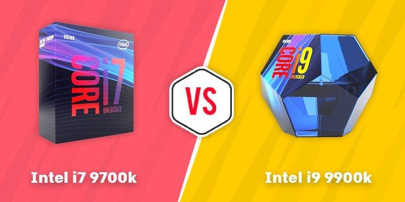 i7 9700k vs i9 9900k