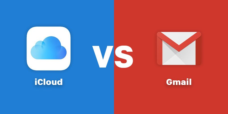 ICloud Vs Gmail