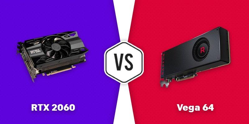 rtx 2060 vs vega 64