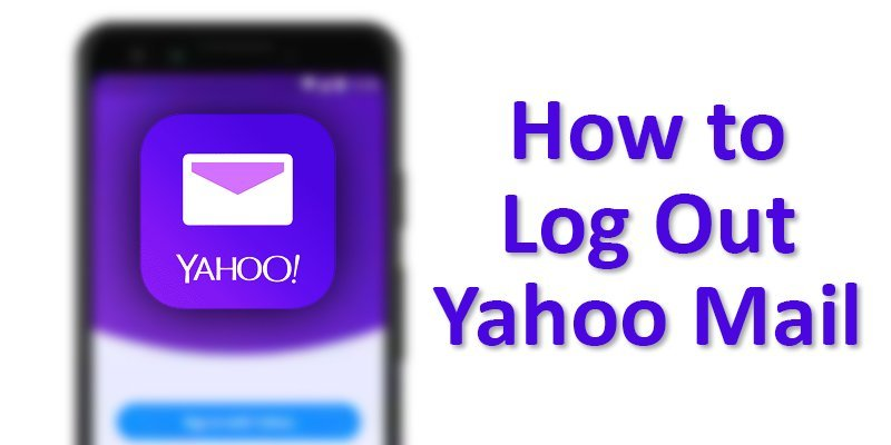 yahoo mail log out