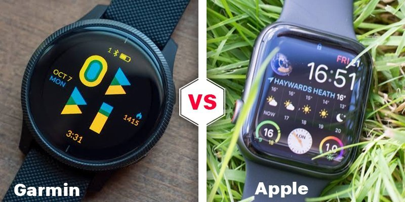 garmin vs apple watch