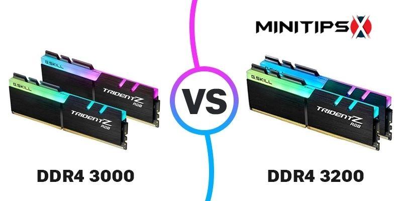 DDR4 3000 Vs 3200
