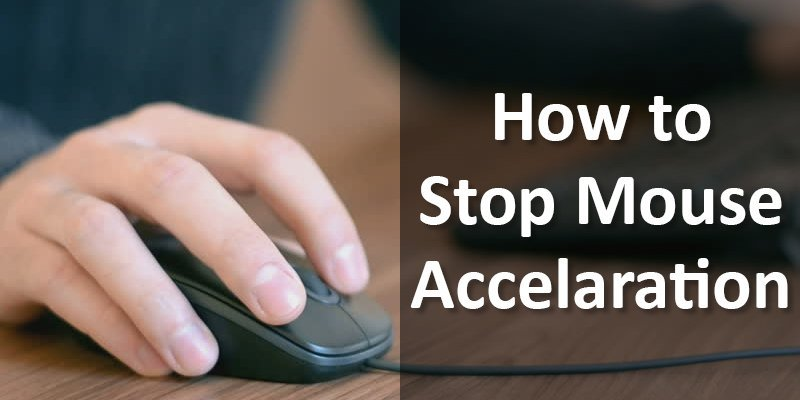 how to turn off mouse acceleration