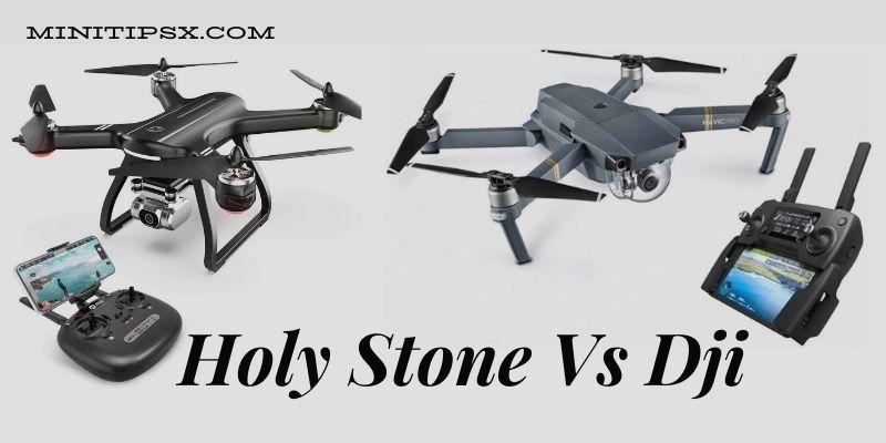 Holy Stone Vs DJI